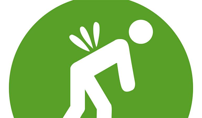 back pain symbol